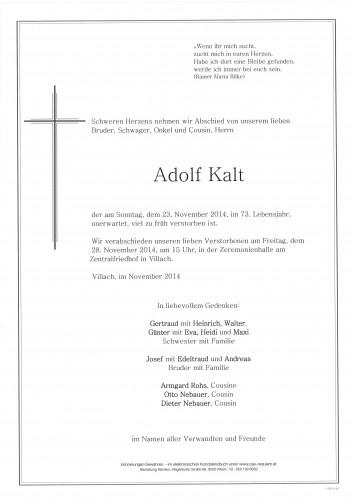 Adolf Kalt