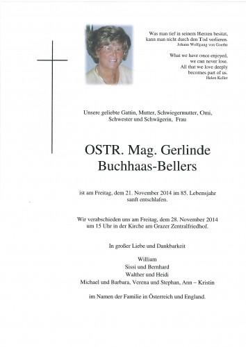 OSTR. Mag. Gerlinde Buchhaas - Bellers