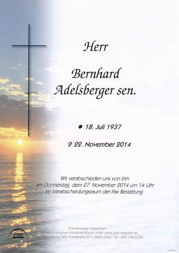 Bernhard Adelsberger sen.