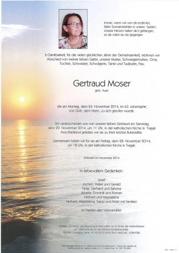 Gertraud Moser