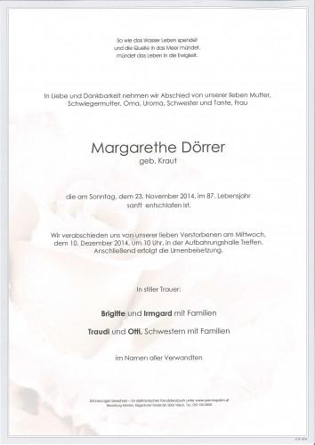 Margarethe Dörrer