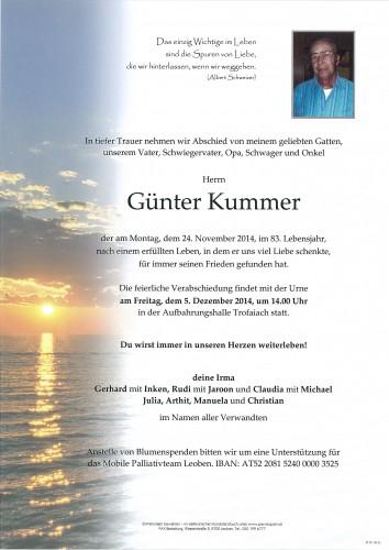 Günter Kummer