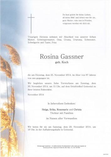 Rosina Gassner