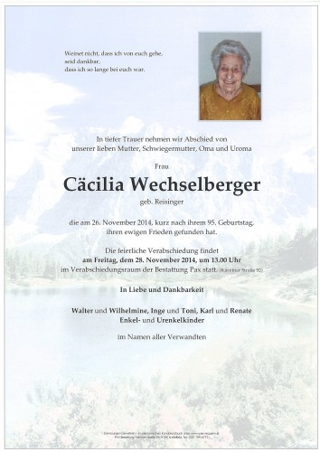 Cäcilia Weichselberger