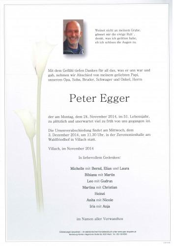 Peter Egger