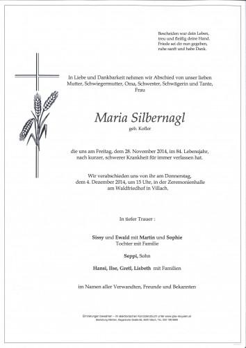 Maria Silbernagl
