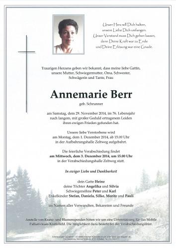 Annemarie Berr