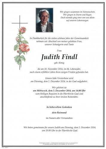 Judith Findl