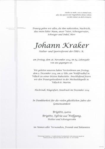 Johann Kraker