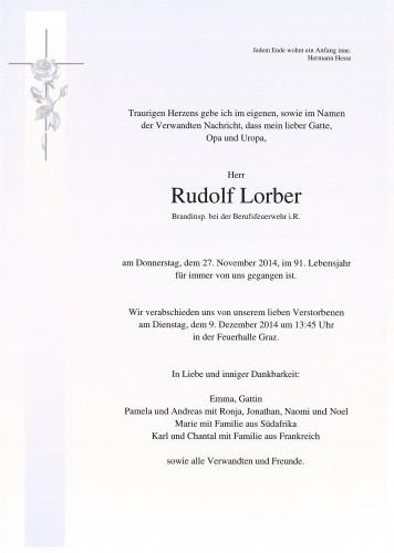 Rudolf Lorber