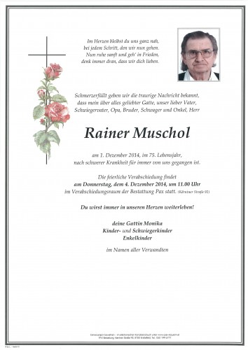 Rainer Muschol