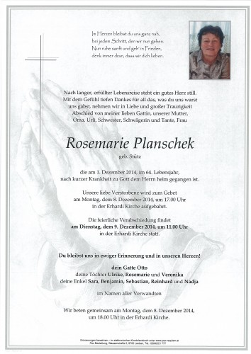 Rosemarie Planschek