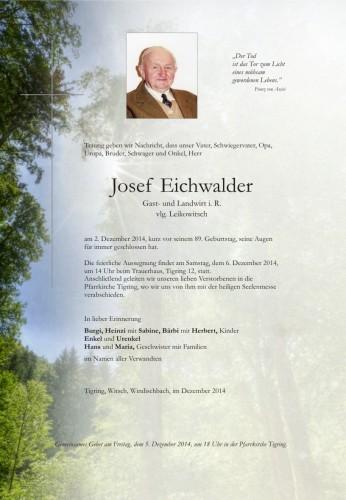 Josef Eichwalder