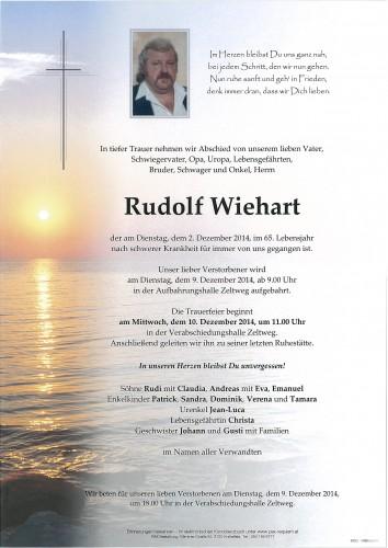 Rudolf Wiehart