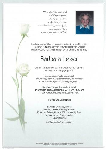 Barbara Leker