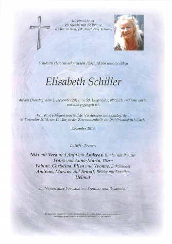 Elisabeth Schiller