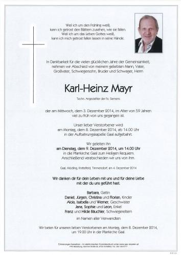 Karl-Heinz Mayr