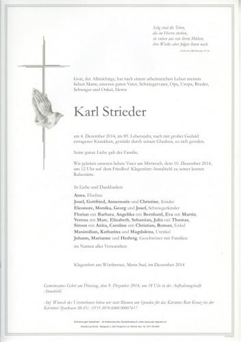 Karl Strieder