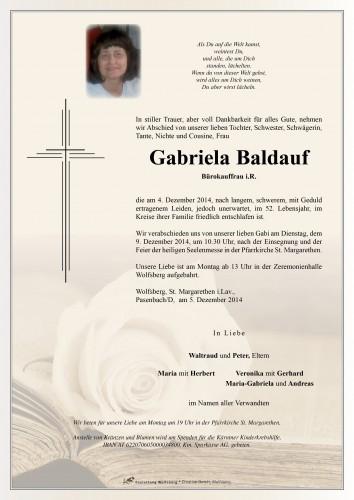 Gabriela Baldauf