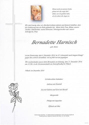 Bernadette Harnisch geb. Selesi