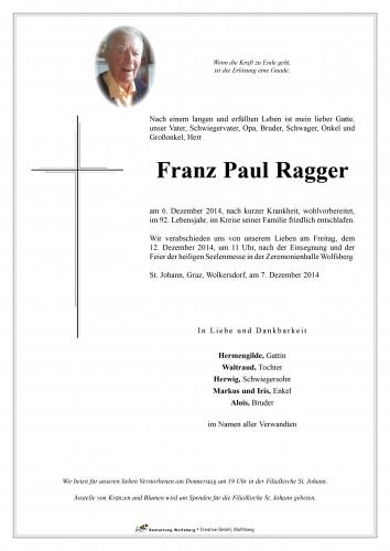 Franz Ragger