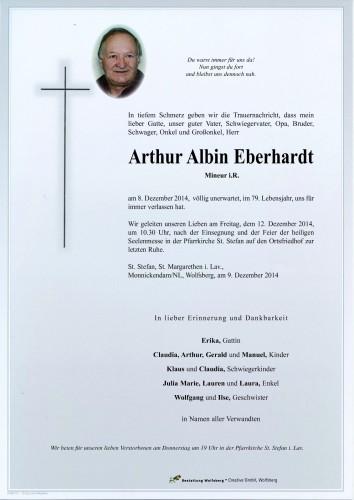 Arthur Albin Eberhardt