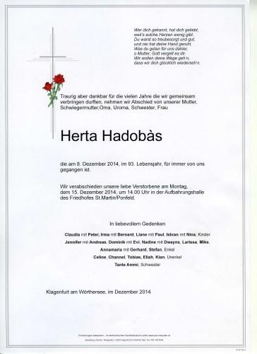 Herta Hadobas