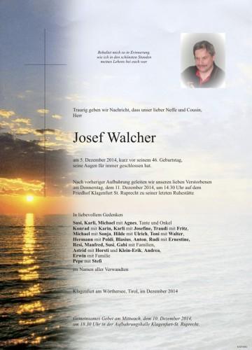 Josef Walcher