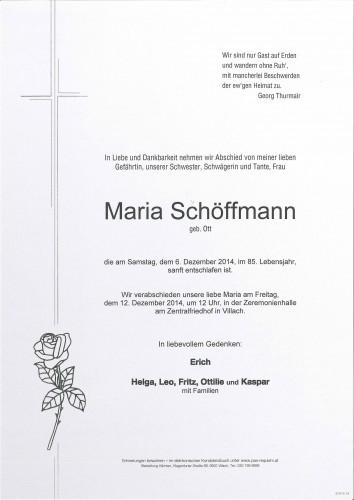 Maria Schöffmann