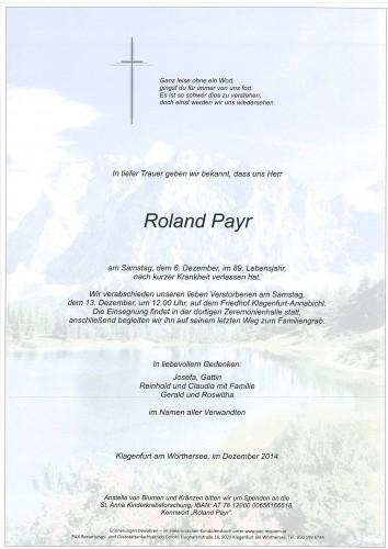 Roland Payr