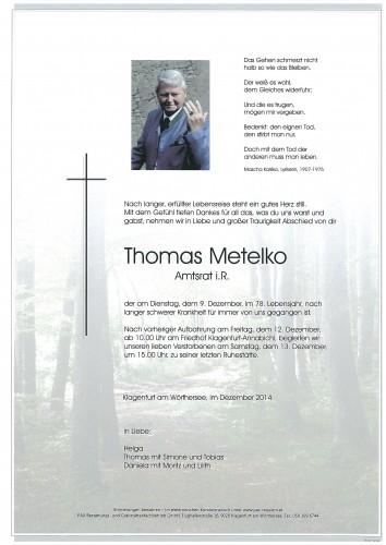 Thomas Metelko
