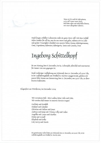 Ingeborg Schittelkopf