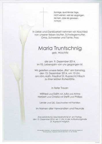 Maria Truntschnig