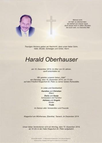 Harald Oberhauser