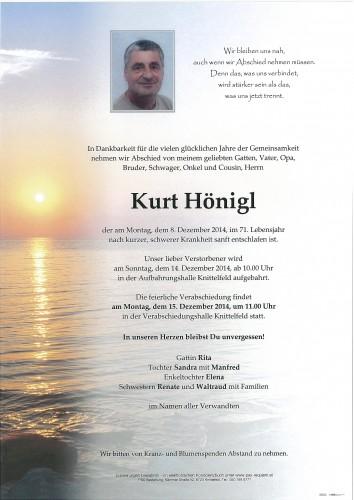 Kurt Hönigl