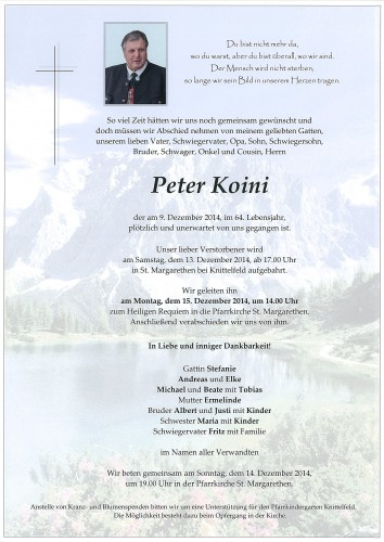 Peter Koini