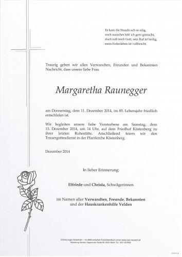 Margaretha Raunegger