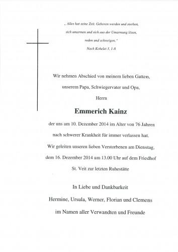 Emmerich Kainz