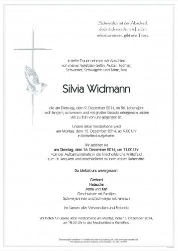Silvia Widmann