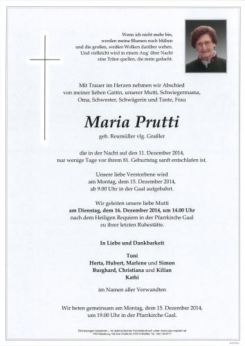 Maria Prutti