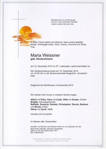 Weissner Maria