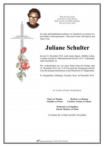 Juliane Schulter