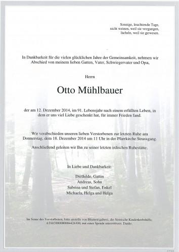 Otto Mühlbauer