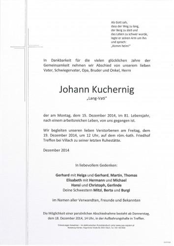 Johann Kuchernig