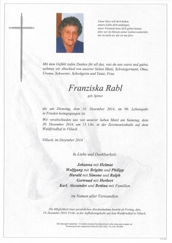Franziska Rabl