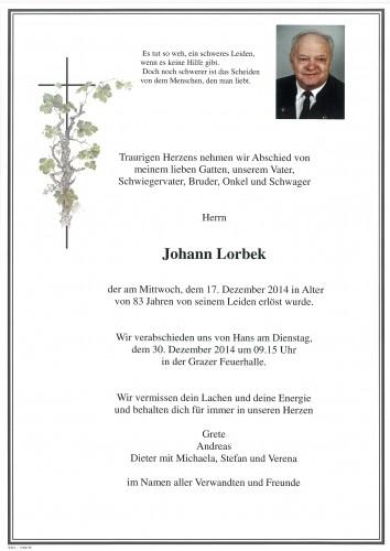 Johann Lorbek