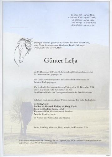 Günter Lelja