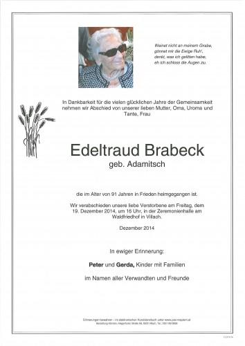 Edeltraud Brabeck