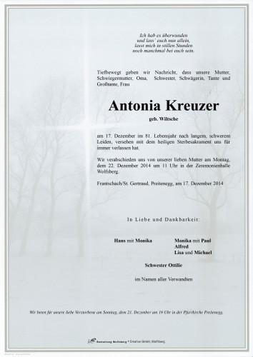Antonia Kreuzer