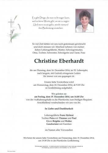 Christine Eberhardt